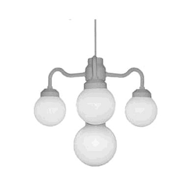 Where to find CHANDELIER 4 GLOBE WHITE in Louisville