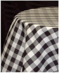 Where to rent BLACK   WHITE GINGHAM LINEN in Louisville KY