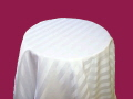 Where to rent WHITE SATIN STRIPE LINEN in Louisville KY