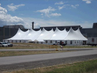 Where to find 100X200 TWIN POLE TENT in Louisville