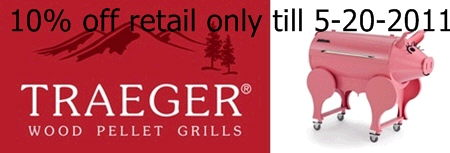 Where to find 10  off retail Traeger Grill with coupon in Louisville