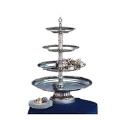 Where to rent SILVER 4 TIER DESSERT TRAY in Louisville KY