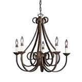 Where to find DOVER CHANDELIER 9 LT BRONZE in Louisville