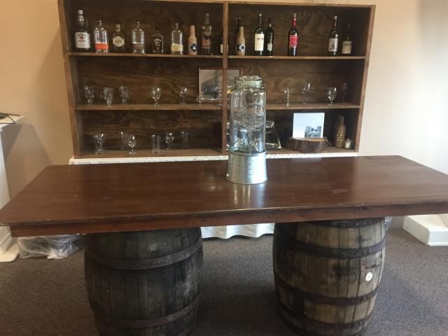 Where to find BOURBON BARREL BAR W BACK in Louisville