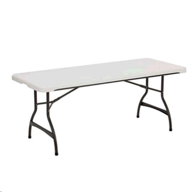 Where to find 8  Plastic Table w  Folding Legs in Louisville