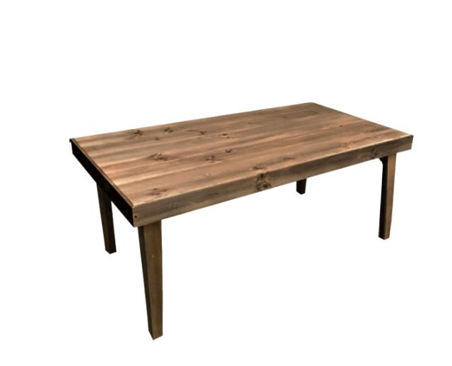 Farm Table 36 Inch X96 Inch W Folding Legs Rentals