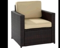 Where to rent PATIO CHAIR PADDED SEAT AND BACK in Louisville KY