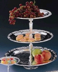 Where to rent SILVER 3 TIER TRAY 13,15,18 in Louisville KY