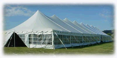 Where to find 40X180 POLE TENT in Louisville
