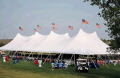 Where to rent 60X120 TWIN POLE TENT in Louisville KY