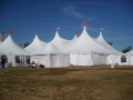 Where to rent 80X130 TWIN POLE TENT in Louisville KY