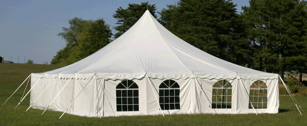 Where to find 40X40 HIGH PEAK POLE TENT in Louisville