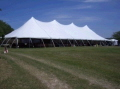 Where to rent 40X100 POLE TENT in Louisville KY